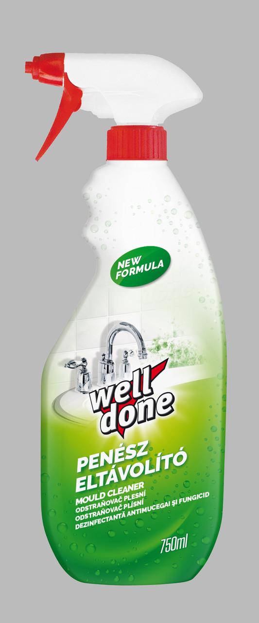 Средство для удаления плесени и остатков мыла Well Done 750 мл