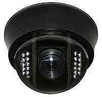 """Внутренняя купольная CCTV цветная охранная камера видеонаблюдения 1/3""""COLOR SONY Super HAD II(мод. NCDOTIR 21)"""