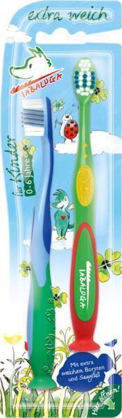 Зубна щітка дитяча Tabaluga extra weich 2 шт Німеччина