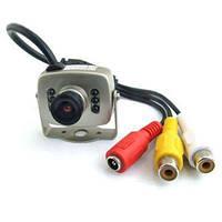 Цветная МИНИ видеокамера со звуком, 1/3 CMOS, 380 TVL, 3 LUX (модель 208 CA)