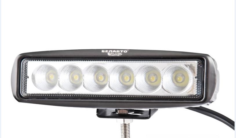 Фара LED светодиодная BELAUTO EPISTAR Flood, 18W, рассеянный свет
