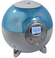 Увлажнитель с подсветкой Е-345, ЖК-дисплей, термометр/гигрометр, с таймером и озонатором, климат-контроль