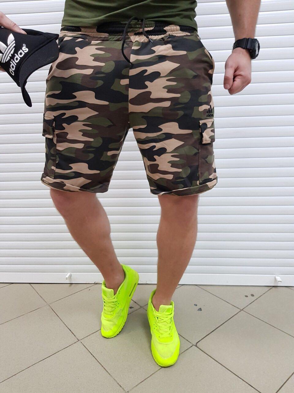 Мужские спортивные шорты Adidas Real soldier