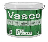 VASCO WOOD AQUATEX Экологически чистая пропитка для дерева 9л В цвете