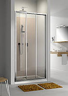 Двери раздвижные для монтажа в нишу или со стенкой Aquaform Moderno 80 см 103-09340