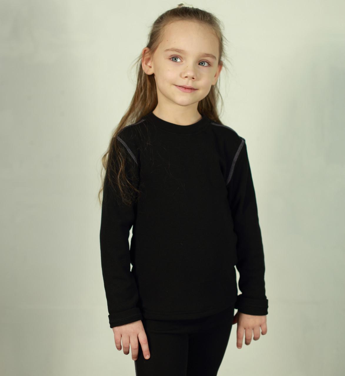 Детский поддевочный костюм для девочки Детское термобелье (поддева) Сиреневый | Дитячий поддевочний костюм