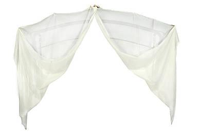 Вуаль (штора) универсальная для качелей