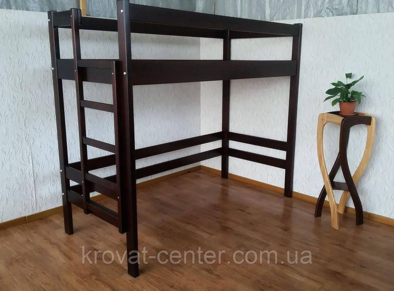 """Детская кровать чердак из массива натурального дерева от производителя """"Макси"""""""
