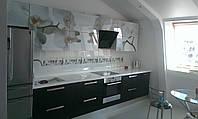 Современная кухня с фото печатью