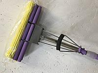 """Швабра губка с двойным отжимом и телескопической ручкой MOP ZOLTY TM """"Feniks"""" (Польша)"""