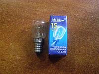 Лампа для холодильников 15 Вт Е14 в индивидуальной упаковке