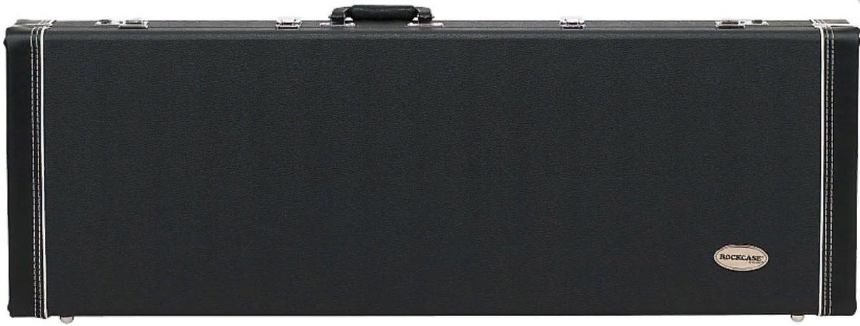 ROCKCASE RC10706B/SB Deluxe Hardshell Case - Electric Guitar Кейс для электрогитары, универсальный Деревянный