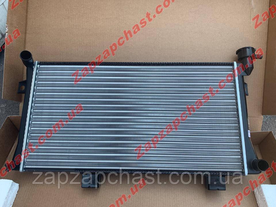 Радиатор охлаждения Ваз 21214 нива тайга инжектор ЛУЗАР (алюминиевый) (LRc 01214)