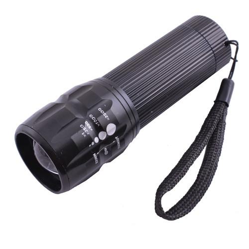 Фонарь Police 8400-LM, 3xAAA, zoom, ремешок