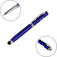 Фонарь ручка 9623-LED, лазер, 3xLR41, stylus