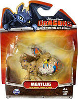 Фигурка Сарделька в боевом окрасе Dreamworks Dragons Defenders of Berk meatlug