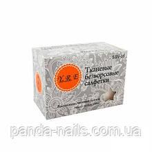 Салфетки тканевые безворсовые YRE, средняя упаковка 100 шт