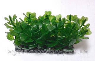 Растение в аквариум, пластик, 5см, с грузом