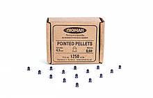 Пули 4,5 мм Люман Pointed pellets 0,68 г (1250 шт)
