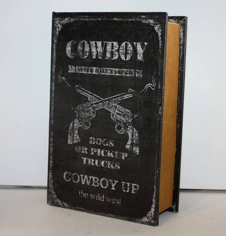 """Книга-сейф """"Cowboy"""" на ключике, фото 2"""