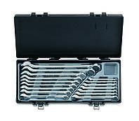 Набор ключей рожково-накидных Force 5161 (16 предметов)