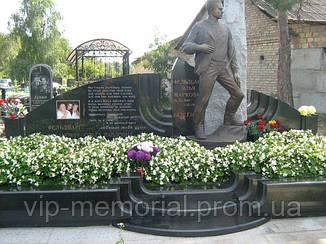 Скульптура на кладбище С-167