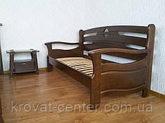 """Прямой диван из массива натурального дерева от производителя """"Луи Дюпон Люкс"""" (90х200)"""