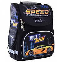 Ранец (рюкзак) - каркасный школьныйдля мальчика - Машина гонка, PG-11 Track, SmartСмарт 555991