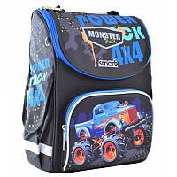 Ранец (рюкзак) - каркасный школьныйдля мальчика - Джип Монстер - трак, PG-11 Track, SmartСмарт 555977
