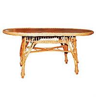 Плетеный стол СЛ-5