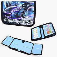 Пенал твердый Машина-Street racing 1 отд. и 2 отвор. + расписание JO-19052