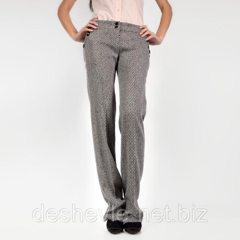 классические женские серые брюки 0386-bvgrey