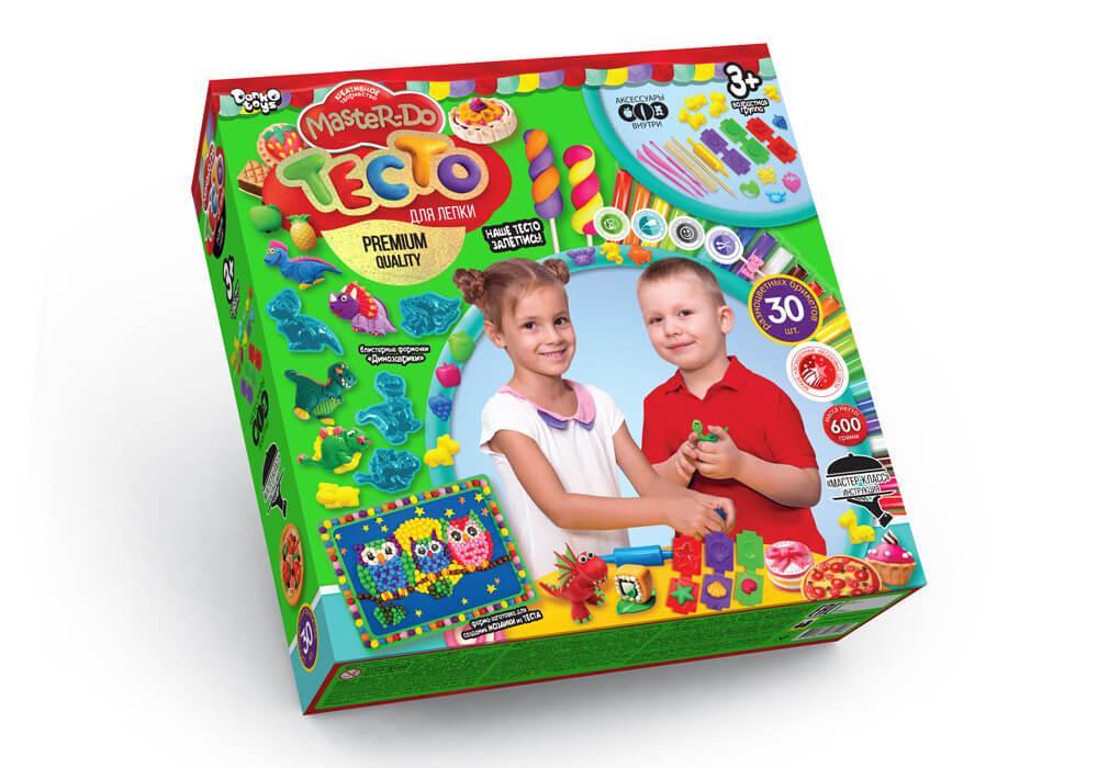 Набір для творчості Danko Toys Тісто для ліплення Master Do, 30 кольорів (Укр) (TMD-03-03)