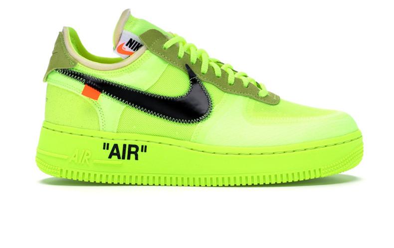 nike air force white green