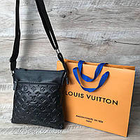 Мужская сумка Louis Vuitton из натуральной кожи, фото 1