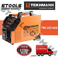 Сварочный инверторный полуавтомат Tekhmann TWI-305 MIG