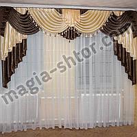 Ламбрекен из портьерной ткани, фото 1