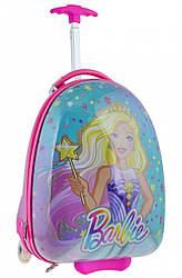 Детский чемодан дорожный на колесах «YES» Barbie