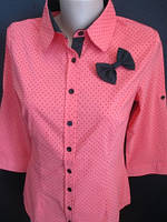 Нарядные женские блузы с бантиком., фото 1