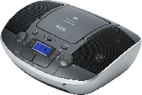CD плеер с USB радио ECG CDR 1000 U titan