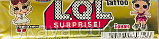 Жевательная резинка L.O.L. surprise! банан , 20  гр