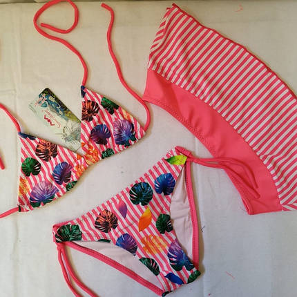 Купальник для девочек SAME GAME  33952 Дора розовый (есть 28,30,32,34,36 размеры), фото 2