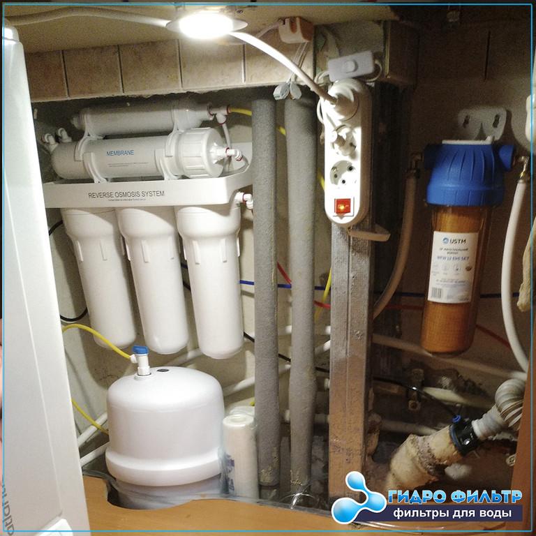 Вместили фильтр Ecosoft Standard 5-50