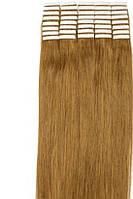 Волосы для ленточного наращивания 50см 20 прядей Светло-русые 16