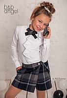 Блуза Baby Angel 982 хлопок белый для девочек