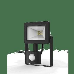 Прожектор світлодіодний Gauss LED 10W IP65 6500К з датчиком руху