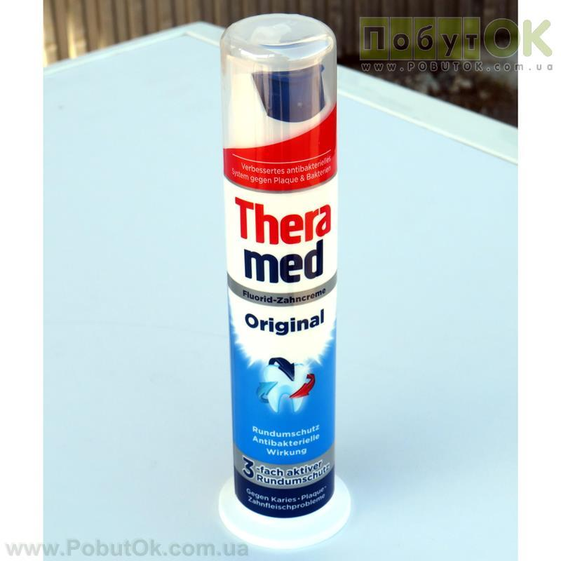 Зубная Паста 100 Мл Thera Med Original Fluorid-Zahncreme (Код:1839)