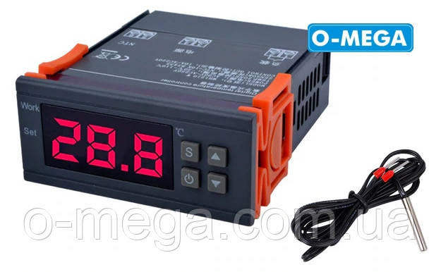 Цифровий Терморегулятор високоточний MH1210W з порогом включення в 0.1 градус