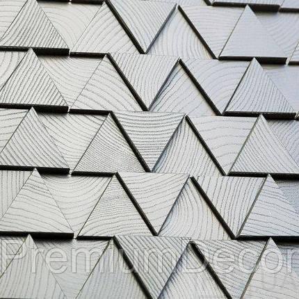 Деревянные 3Д панели стеновые МОНТАНА мозаика с дерева дуб, ясень, фото 2