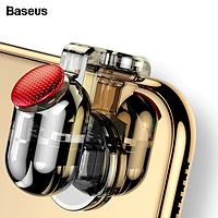 Игровые триггеры для мобильного телефона кнопка прицеливания огня контроллер BASEUS Red-Dot 2шт